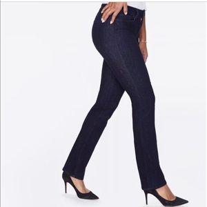 NYDJ Marilyn straight jeans size 10